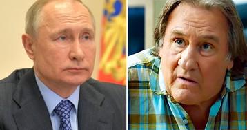 Жерар Депардье: Я никогда не видел чудовища в Путине