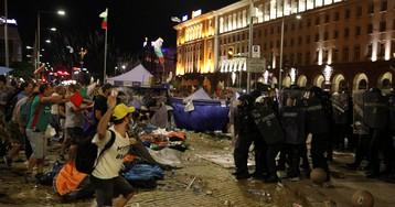 В Болгарии устроили массовое задержание протестующих
