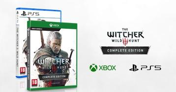 Улучшенная версия «Ведьмак 3: Дикая Охота» будет выпущена для PS5, Xbox Series X и PC
