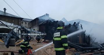 МЧС ликвидировало пожар 1812 года в Подмосковье