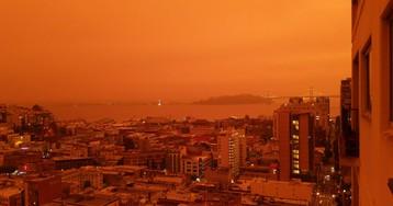 Калифорния стала похожа на Марс из-за лесных пожаров