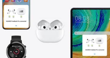 Huawei официально представила TWS-наушники FreeBuds Pro