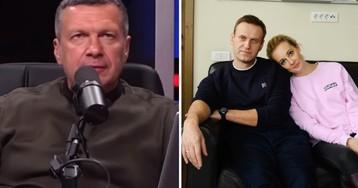 Соловьев: Навальный отравился «плохим спиртом»