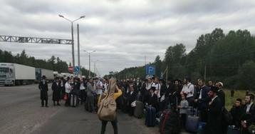 Лукашенко поручил помочь застрявшим на белорусско-украинской границе хасидам
