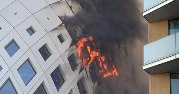 В многострадальном Бейруте снова вспыхнул пожар