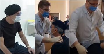 Видео с упавшим в обморок во время прививки Боярским выложили в сеть