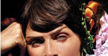 51-летняя супермодель Хелена Кристенсен снялась в пикантной фотосессии