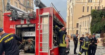 В центре Киева в ресторане произошел взрыв