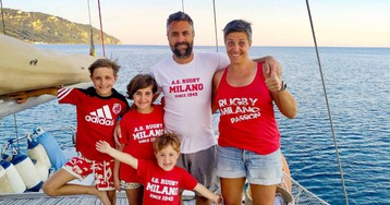 Covid has stopped most adventures. But this family is still setting sail