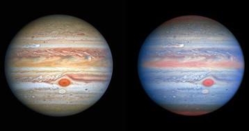Хаббл передав нові знімоки Юпітера