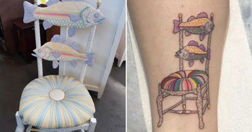 How a fish chair tattoo inspired a 300-mile journey