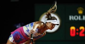 Свитолина на турнире в Риме разгромлена финалисткой «Ролан Гаррос» (видео)
