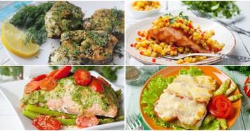 Подборка разнообразных блюд из рыбы
