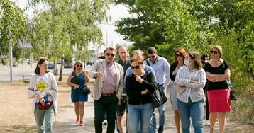 """Директор львовского КП о велодорожках на Набережной в Запорожье: """"Тут не можна нічого робити на дорозі, бо тут великі швидкості"""""""
