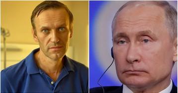 Навальный ответил Путину на заявление, что оппозиционер «отравился ядом сам»