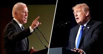 Выборы в США: Байден опережает Трампа на 10 процентов