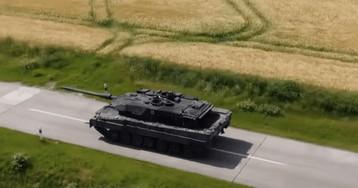 У Німеччині тестують модернізований танк Leopard. ВІДЕО