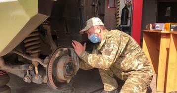 Як прикордонники на Донбасі готують до зими озброєння та техніку. ФОТО та ВІДЕО