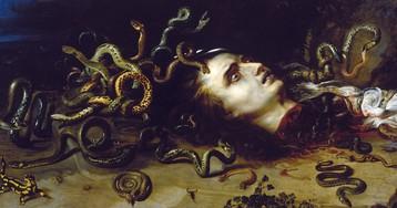 Медуза Горгона и миф о храбром Персее. Как Персей победил Горгону Медузу