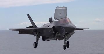 США разбили истребитель F-35B из-за неудачной воздушной дозаправки