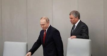 «Путин спас его жизнь»: Володин назвал Навального агентом западных спецслужб