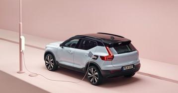 Первый электромобиль Volvo — XC40 Recharge — запустили в производство