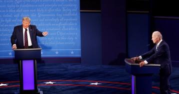 Байден согласился перенести дебаты из-за коронавируса у Трампа
