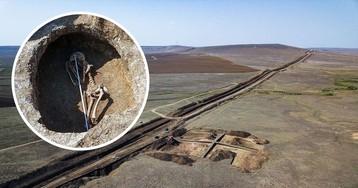 В Крыму строили водовод и наткнулись на 5000-летнее поселение (фото)