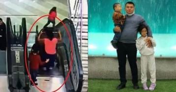 Мама детей, упавших с эскалатора в ТЦ, в это время примеряла одежду