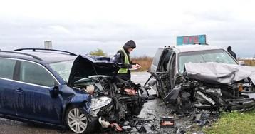 Под Ровно в автокатастрофе погибла беременная женщина, спешившая в роддом