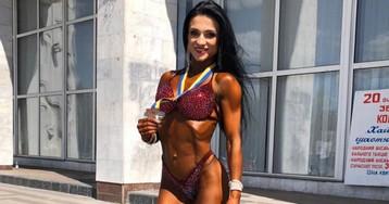 Многодетная мама из Ровенской области стала вице-чемпионкой Украины по бодибилдингу (фото)