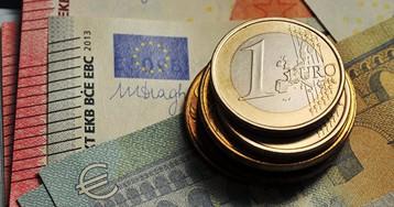 Курс евро опустился ниже 91 рубля