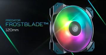 Acer готовит релиз 120-мм вентилятора Predator FrostBlade