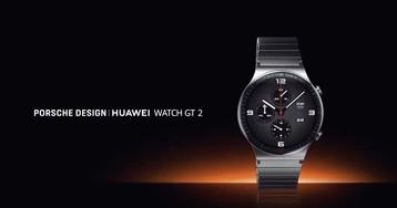 Huawei Watch GT 2 Porsche Design: дорогие смарт-часы из титана