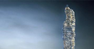 Архитекторы представили концепт самого высокого здания в Нью-Йорке, способного поглощать углерод