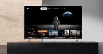 Украинские пользователи смарт-телевизоров Sony получат доступ к сервису Apple TV+