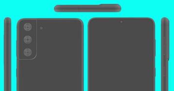 Рендери демонструють Samsung Galaxy S21+ з усіх боків