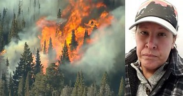 Colorado fires: 'It's devastating... watching my community burn'