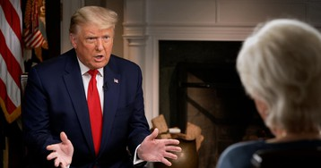 Moments from 60 Minutes' interview with President Trump