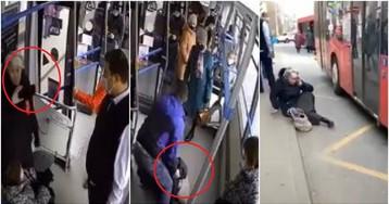 Пенсионерку-блогера без маски выкинули из автобуса в Казани