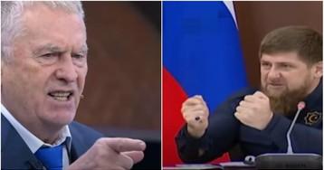 """""""Может, тебе повезёт…"""": Кадыров потребовал извинений от Жириновского"""