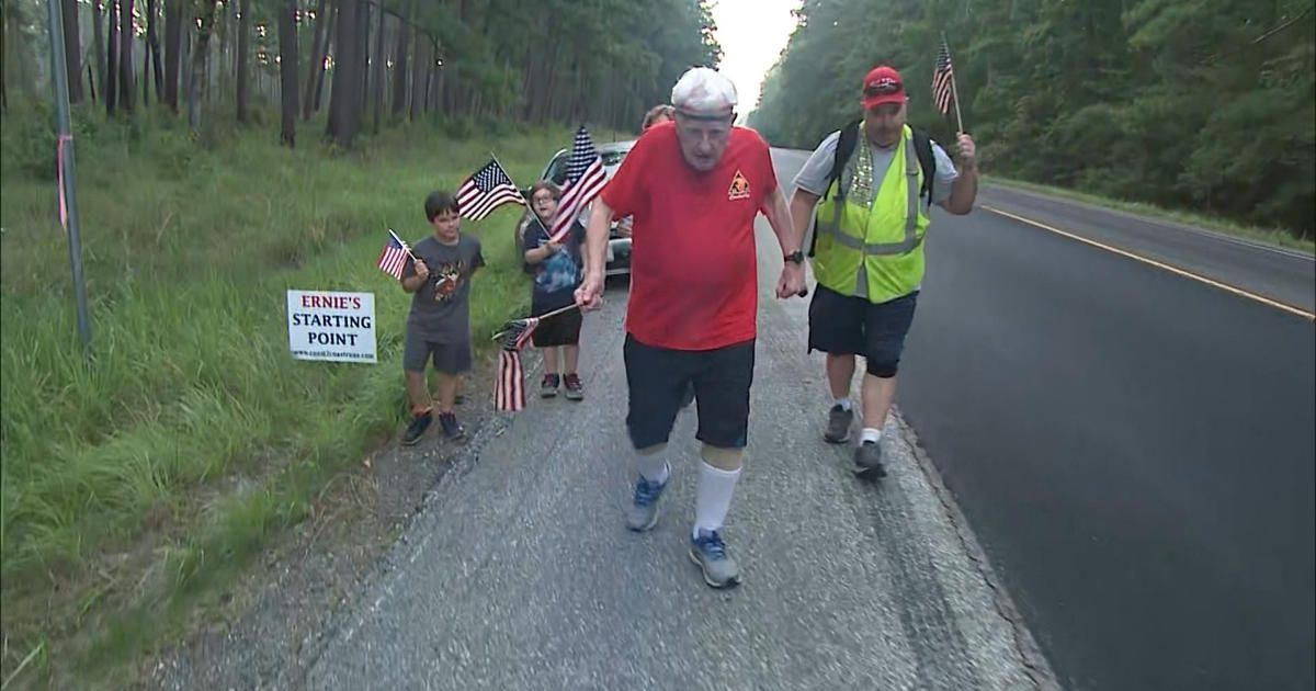 This 96-year-old could be the oldest person ever to run coast-to-coast