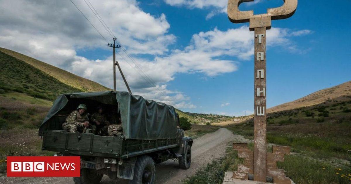 Azerbaijan and Armenia clash over disputed Nagorno-Karabakh region