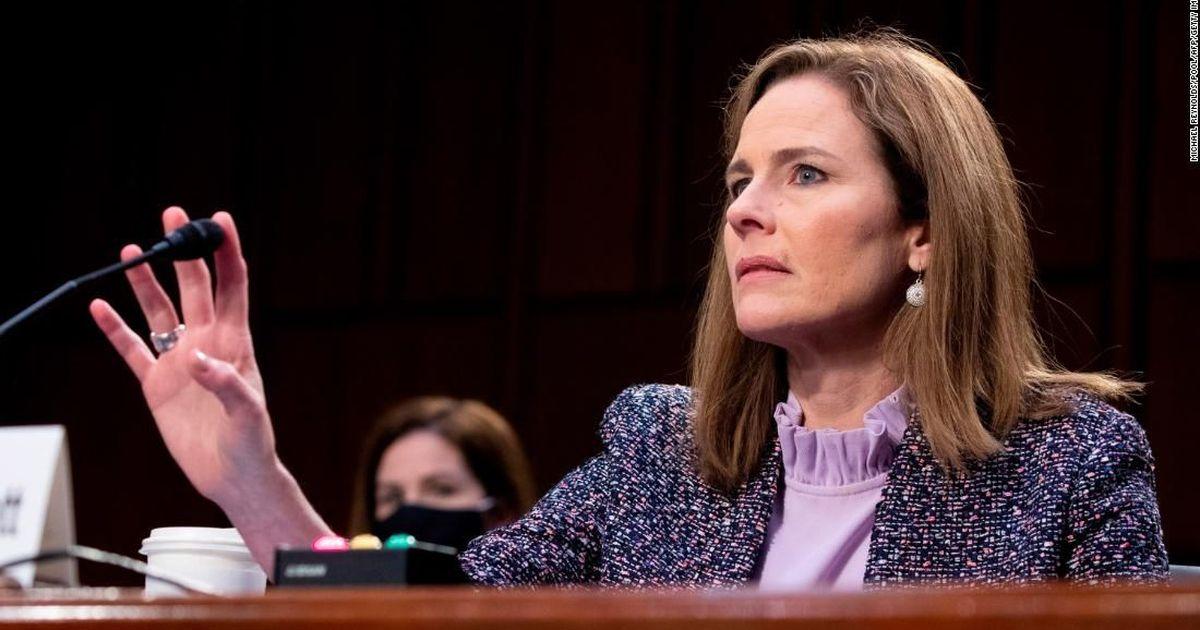 Senate Judiciary Committee advances nomination of Amy Coney Barrett