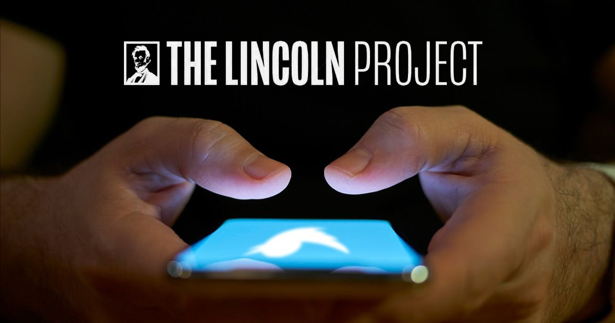 Anti-Trump Lincoln Project shared content US later ID'd as Iranian disinformation