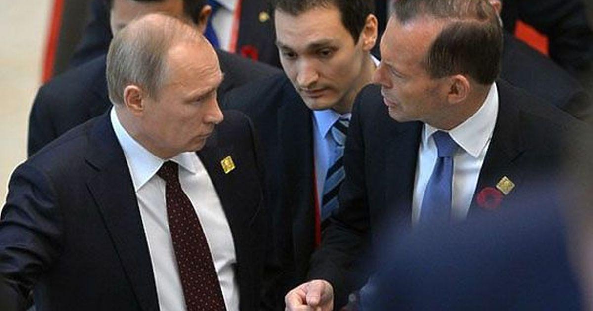 Фото Угрозы Эббота в адрес Путина попали в словарь
