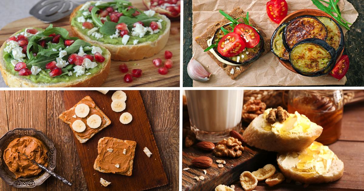 Фото Оригинальные идеи полезных намазок на бутерброд для завтрака. Начните день правильно!