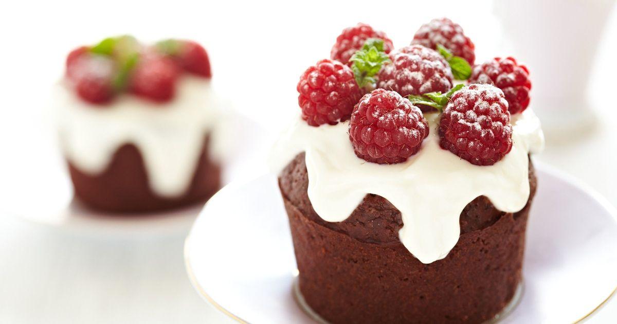 Фото Идея украшения для кексов