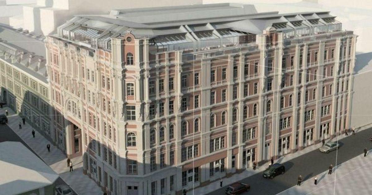 Фото Власти разрешили перестроить под гостиницы два доходных дома в Москве