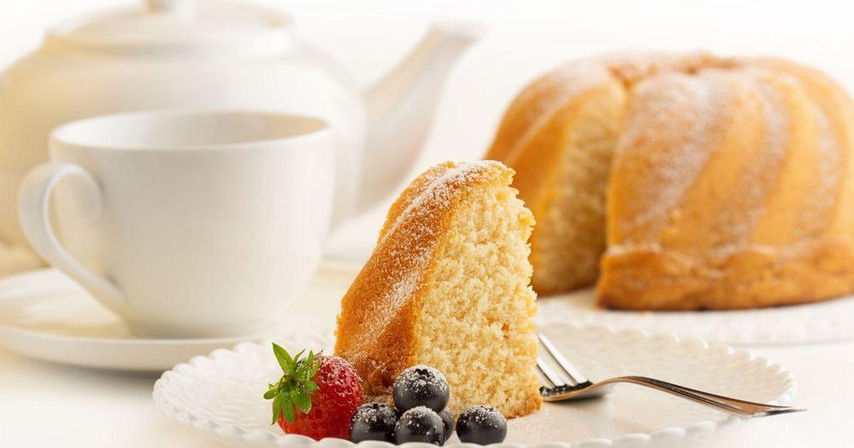Фото Кукурузный масляный бисквит
